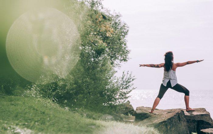Focus on Yourself Through Yoga