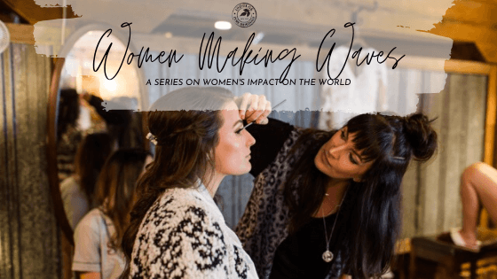 Indulge Pure Originals Women Making Waves Jennifer Duvall Make Up Artist Athens Georgia