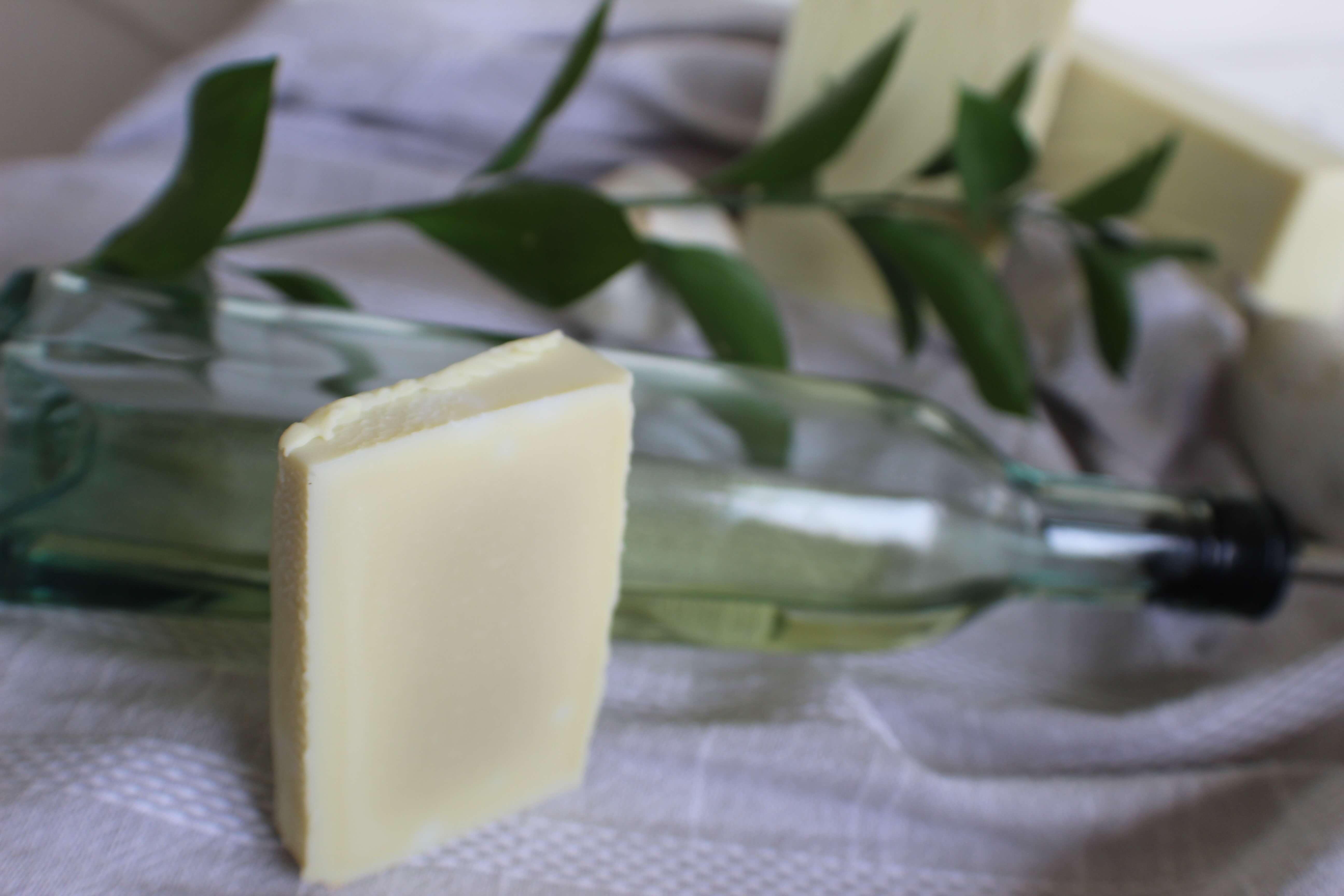Unscented Organic Castile Soap - Handmade Soap in Georgia